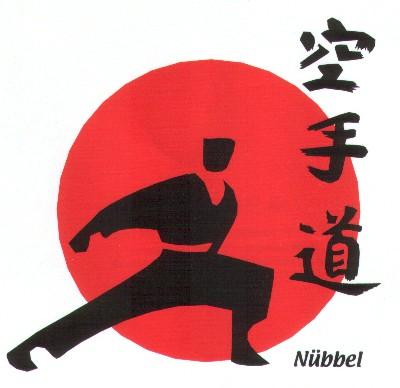 Logo der Karatesparte des SSV Nübbel